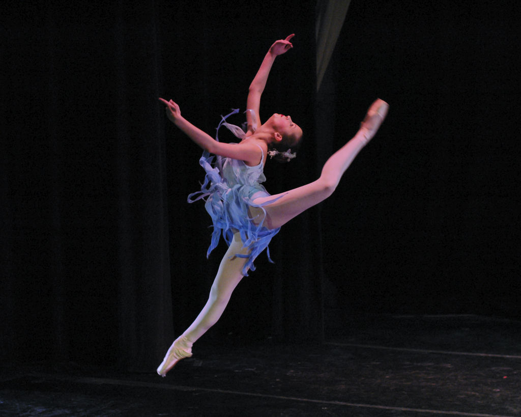 FORMER GYMNAST FINDS JOY AND PASSION IN DANCE